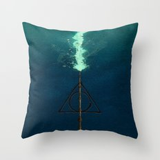 Harry Potter Deathly Hollows Expecto Patronum Throw Pillow