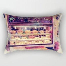 Erice art 9 #sicili Rectangular Pillow