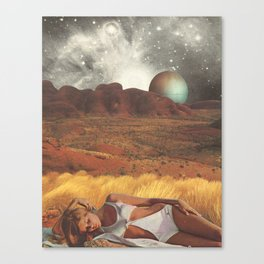 the life and death of stars - collab with sammy slabbinck Canvas Print