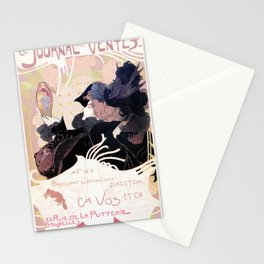 1899 Art nouveau auction journal ad Stationery Cards