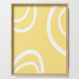 HELLO YELLOW - GRAPHIC 1 by MS Serving Tray