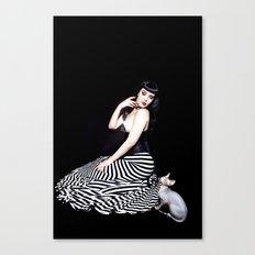 Felicia & Dobby Canvas Print