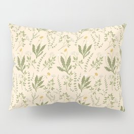 Angelica, Thyme, & Dandelion Pillow Sham