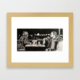 Thief Framed Art Print