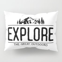 Explore the Great Outdoors Pillow Sham
