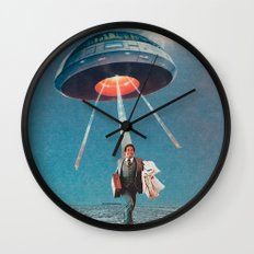 Space Juice Wall Clock