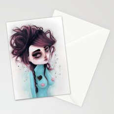hole on my own heart Stationery Cards