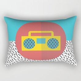 Nice People Like Music Rectangular Pillow