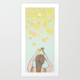 Until the Stars Fall from the Sky Art Print
