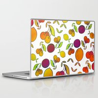 fruits Laptop & iPad Skins featuring Fruits by VessDSign