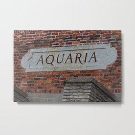 Toledo Zoo Aquaria Metal Print