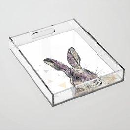 Hare Acrylic Tray