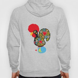 Rooster of Barcelos | Portuguese Lucky Charm Hoody