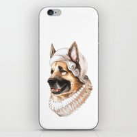german iPhone & iPod Skins featuring German Shepherd by Petty Portraits