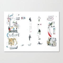 Reshape Canvas Print