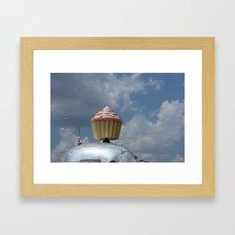 Cupcake Trailer Framed Art Print