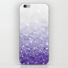 MERMAIDIANS PURPLE GLITTER iPhone Skin