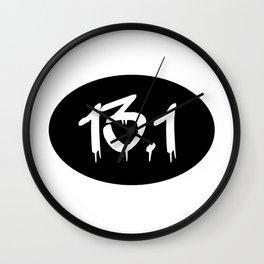 13.1 Half Marathon Wall Clock