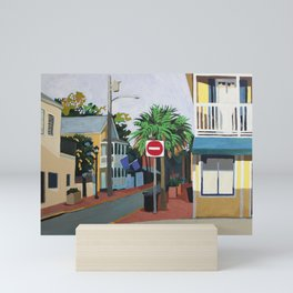 Corner Palm Mini Art Print