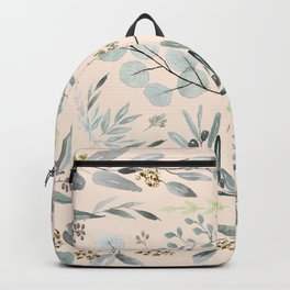 Eucalyptus square Backpack