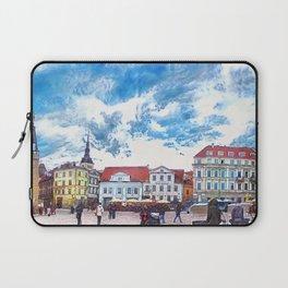 Tallinn art 7 #tallinn #city Laptop Sleeve