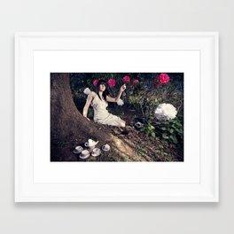 Alice In Memoriam Framed Art Print