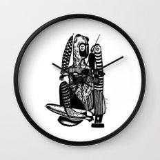 Bear me - Emilie Record Wall Clock