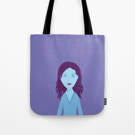 The Girl Who Remains Tote Bag