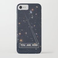 card iPhone & iPod Cases featuring THE UNIVERSE - Space | Time | Stars | Galaxies | Science | Planets | Past | Love | Design by Mike Gottschalk