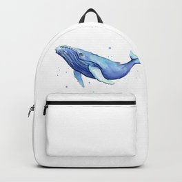 Humpback Whale Watercolor Backpack