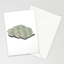 Pile Of Cash Stationery Cards