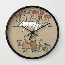 Kiss Wall Clock