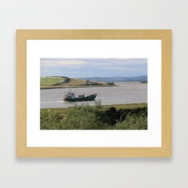 Ship into Launceston Docks* Framed Art Print