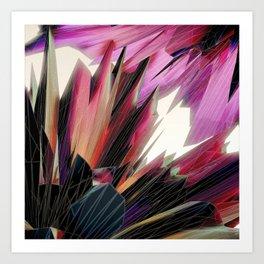 #Crystallised #Kinship - 20151102 Art Print