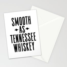 WHISKEY GIFT IDEA, Smooth As Tennessee Whiskey,Bar Decor,Bar Cart,Party gift,Drink Sign Stationery Cards