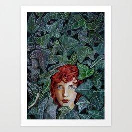 Pamela Isley Art Print
