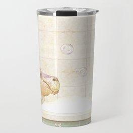 Hippo in the bath Travel Mug