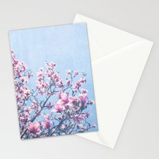 She Bloomed Everywhere She Went Stationery Cards