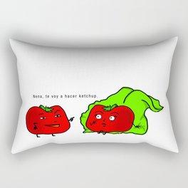 Tomatito Travieso Rectangular Pillow
