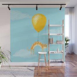 Balloon Cat Wall Mural