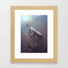 Leviathan Framed Art Print