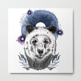 The Bear (Spirit Animal) Metal Print