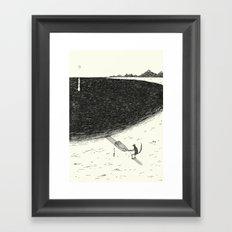 'Beach' Framed Art Print