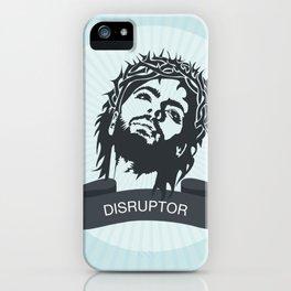 Jesus the Disruptor iPhone Case