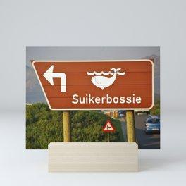 Suikerbossie Mini Art Print