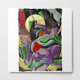 Neon Genesis Evangelion Unit 01 Metal Print