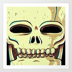 Skelly Art Print