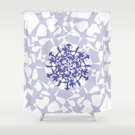 Snowflake 2 Shower Curtain