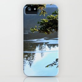 Ice Refelctions Photography Print iPhone Case