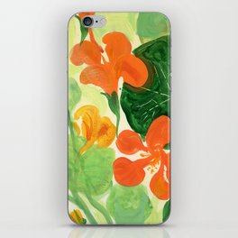 Indian Cress #1 iPhone Skin